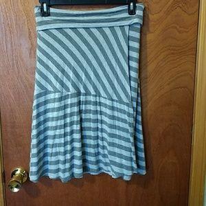 Athleta wrap grey skirt!